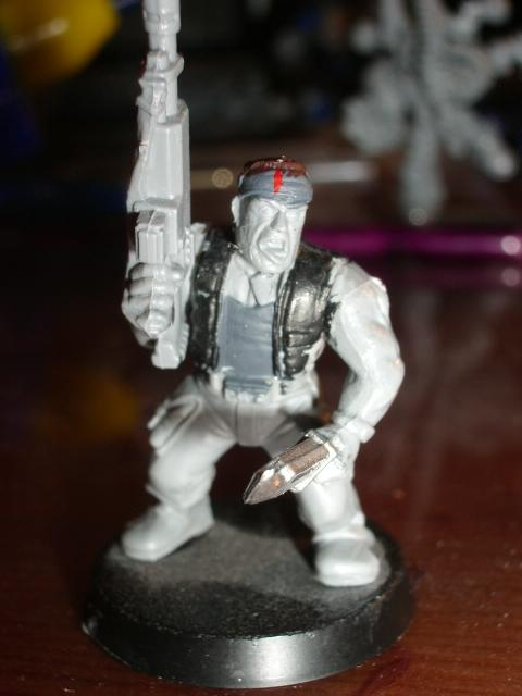 Close up of the sergeant