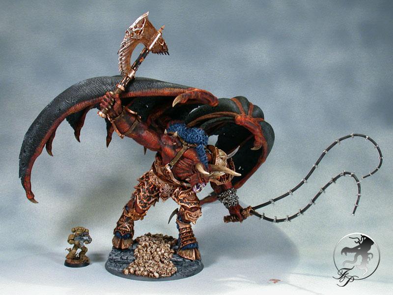 Balrog, Bloodthirster, Daemons, Khorne