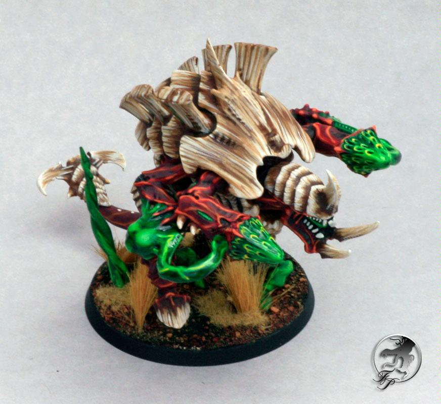 Carnifex, Menelker, Tyranids, Warhammer 40,000