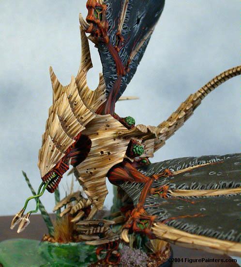 Golden Demon, Menelker, Tyranids, Tyson Koch Hive Fleet Amourphous