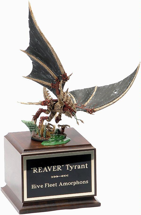 Golden Demon, Hive Tyrant, Menelker, Tyranids, Tyson Koch Hive Fleet Amourphous
