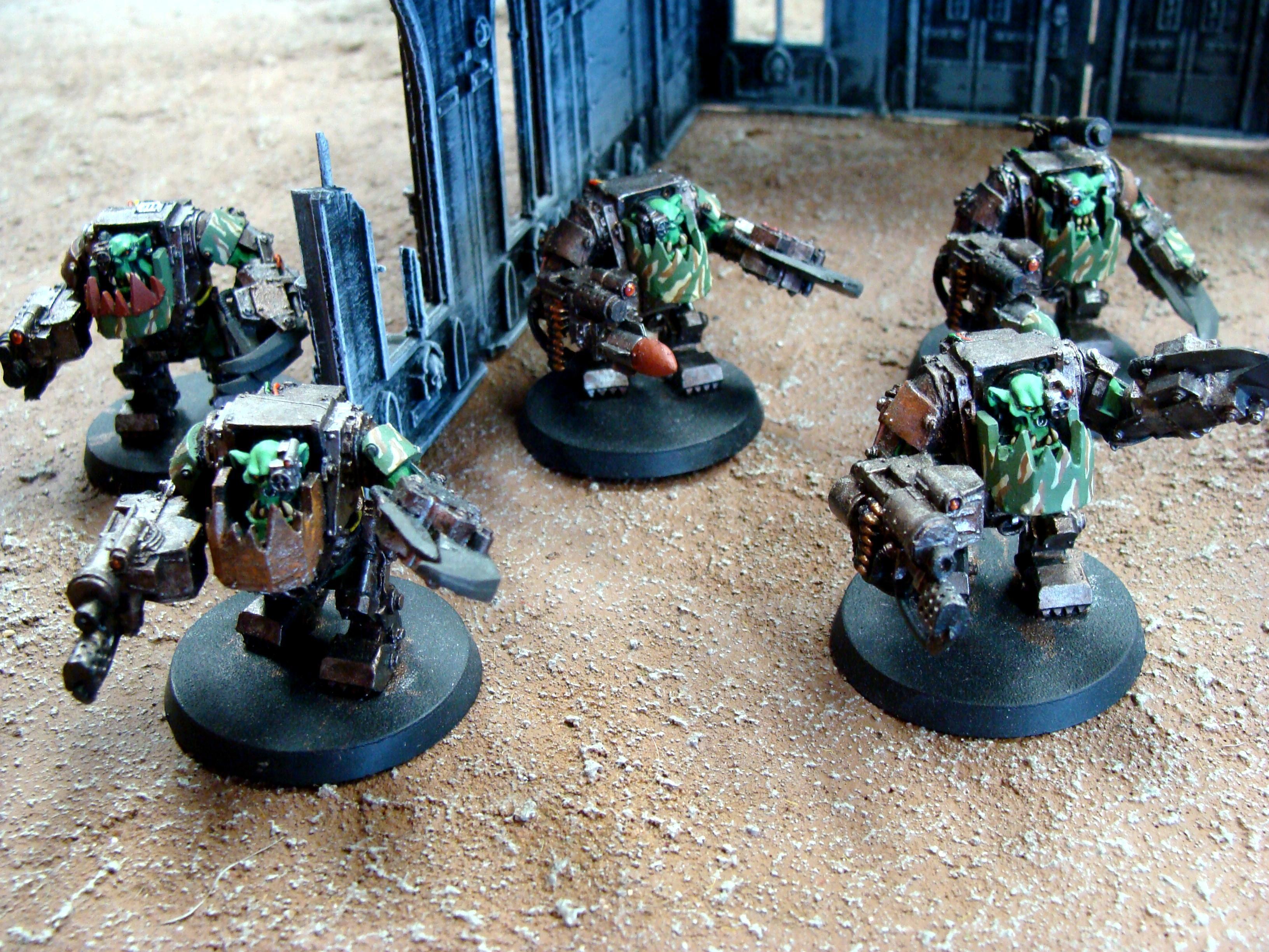 Mega Armored Nobs, Orks, Warhammer 40,000