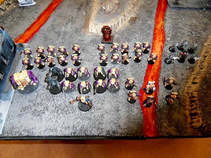 Purple, Space, Space Marines, White