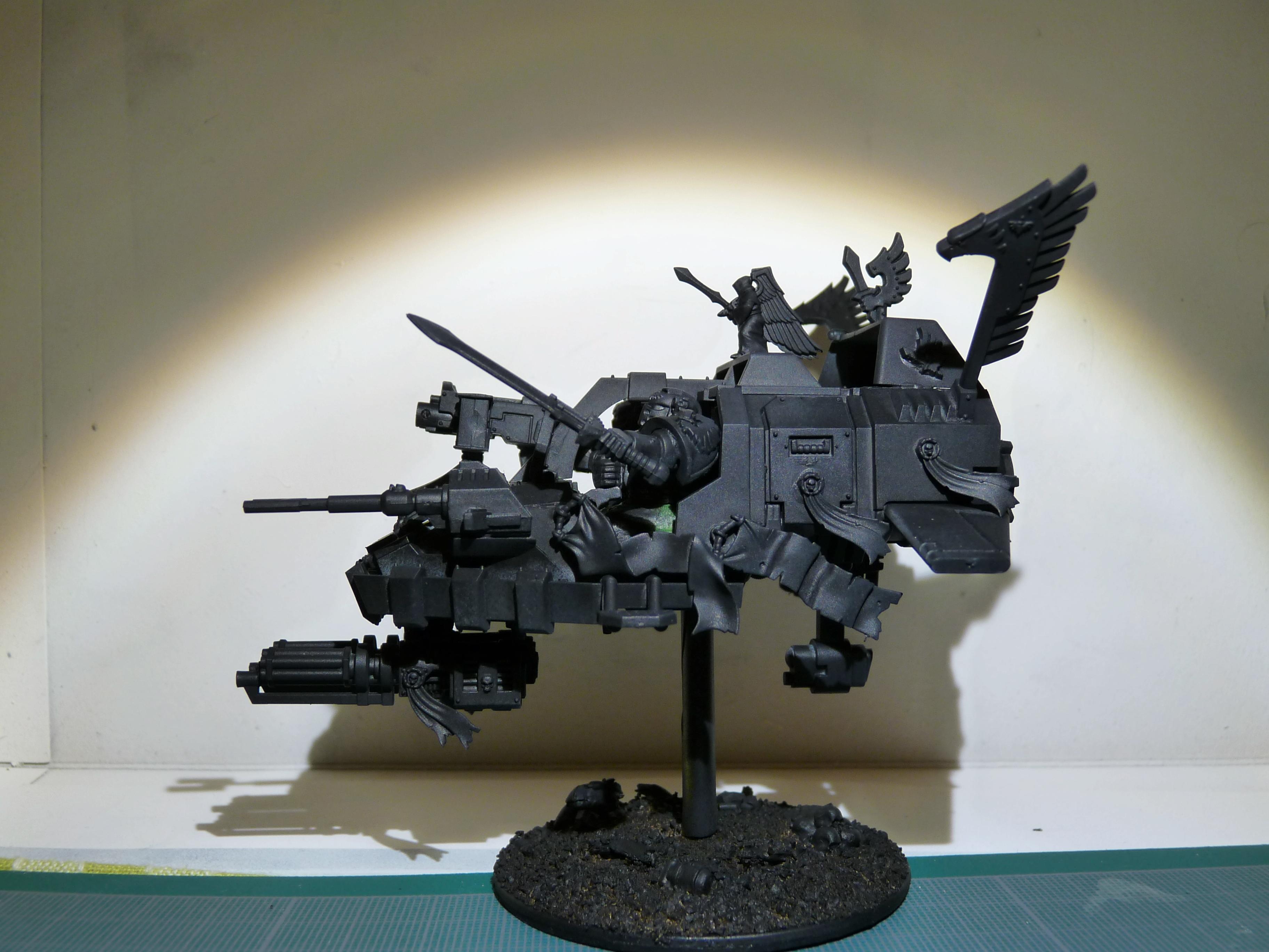 Dark Angels, Land Speeder, Ravenwing