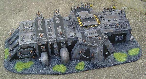 Bastion, Bunker, Chaos, Chaos Space Marines, Dawn Of War, Fort, Iron Warriors, Terrain