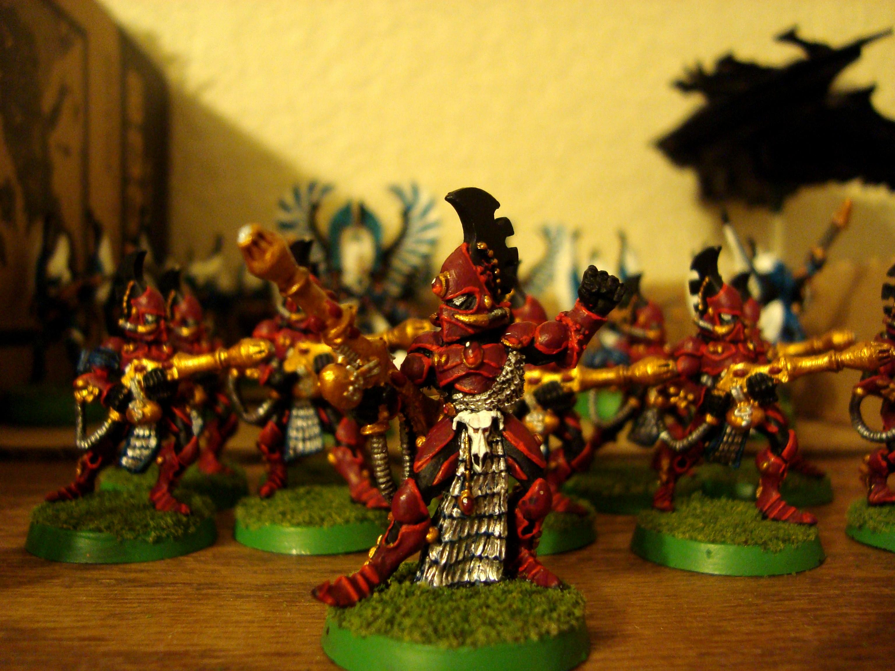 Eldar, Exarch, Fire Dragon, Out Of Production, Uaire-nem, Warhammer 40,000