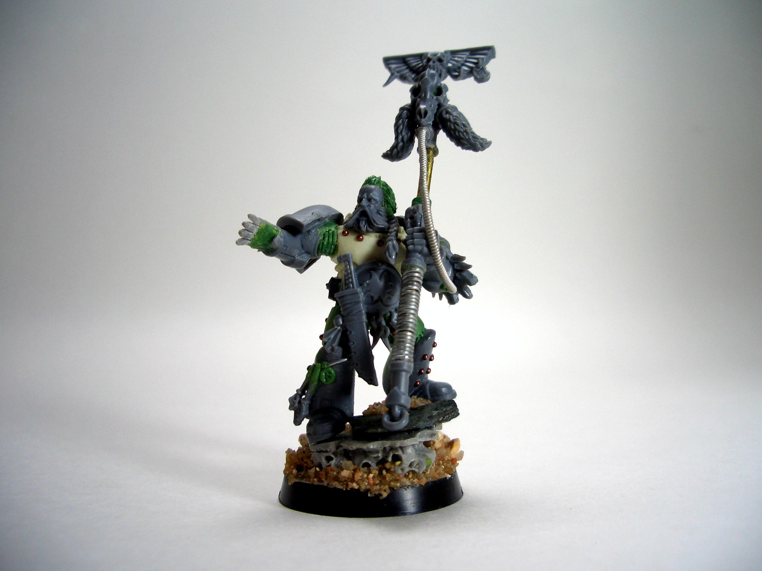 Conversion, Greenstuff, Rune Priest, Space Marines, Space Wolves, Warhammer 40,000
