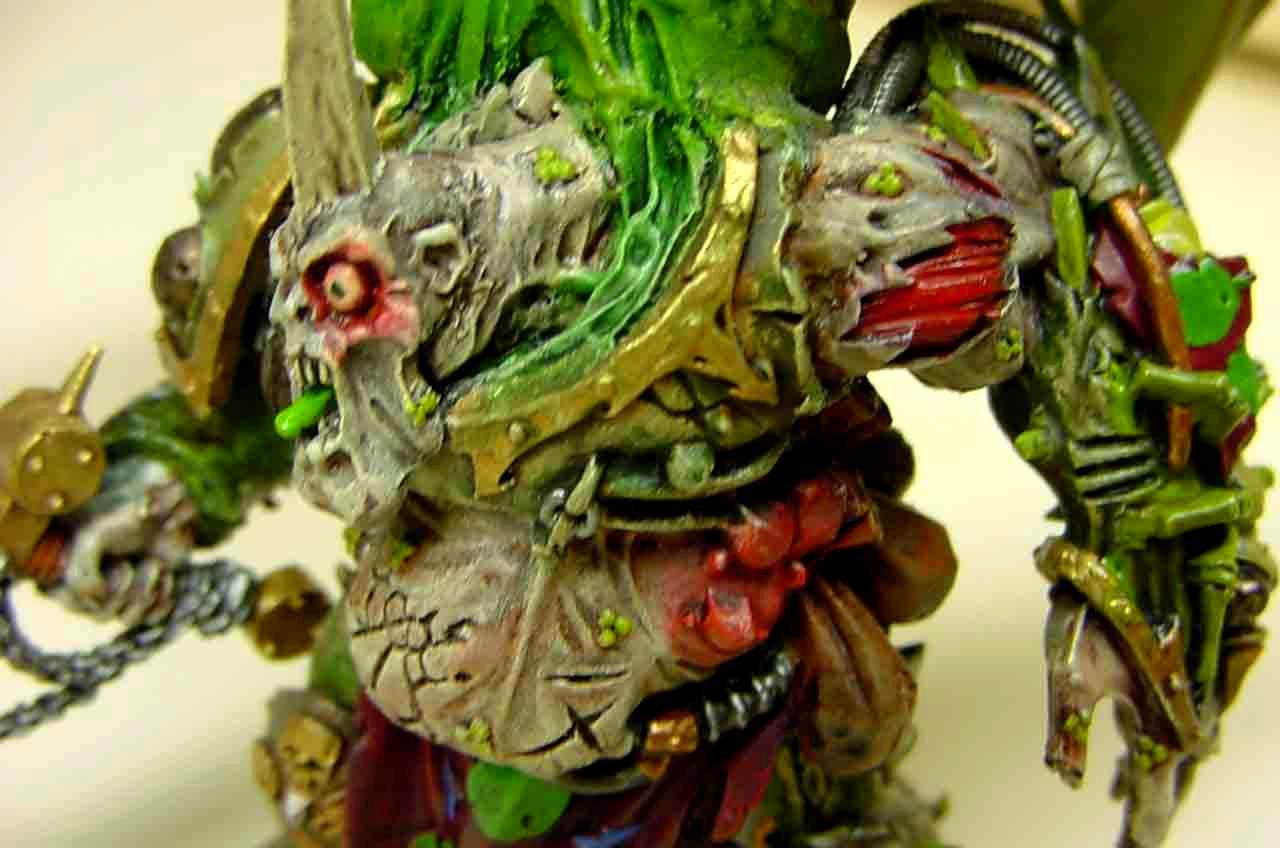 Chaos Space Marines, Daemon Prince, Nurgle, Warhammer 40,000
