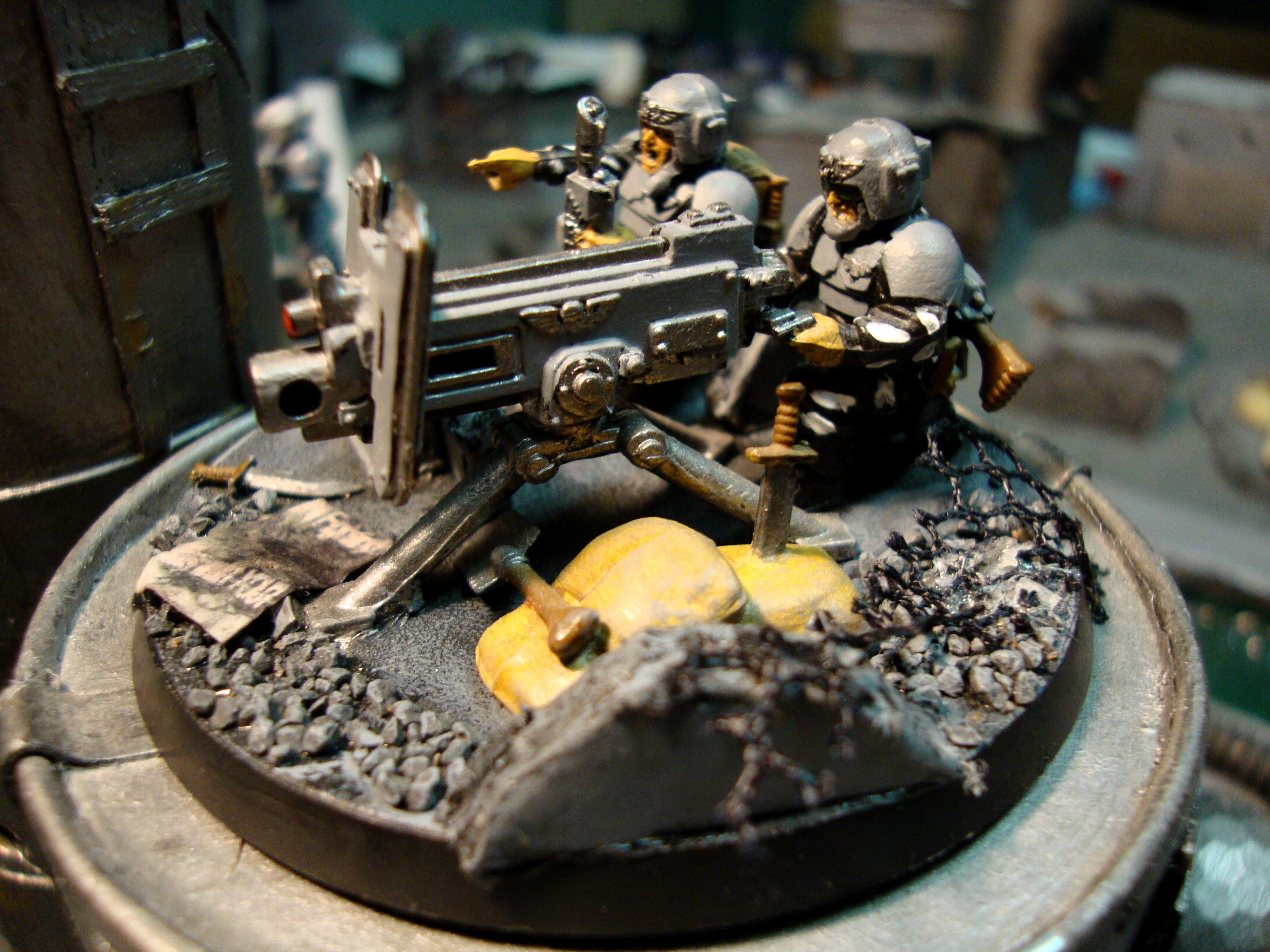 Heavy Weapons Team, Imperial Guard