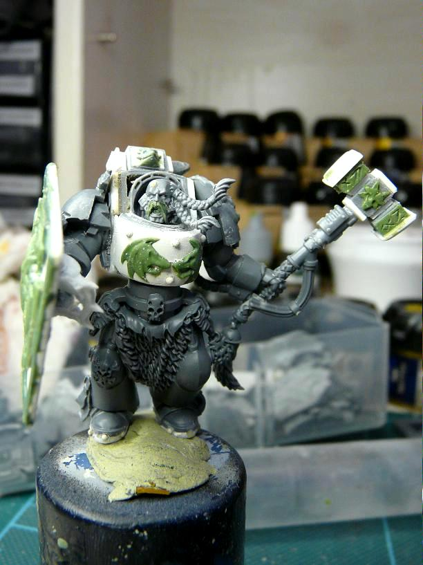 Arjac Rockfist, Conversion, Space Marines, Space Wolves, Terminator Armor