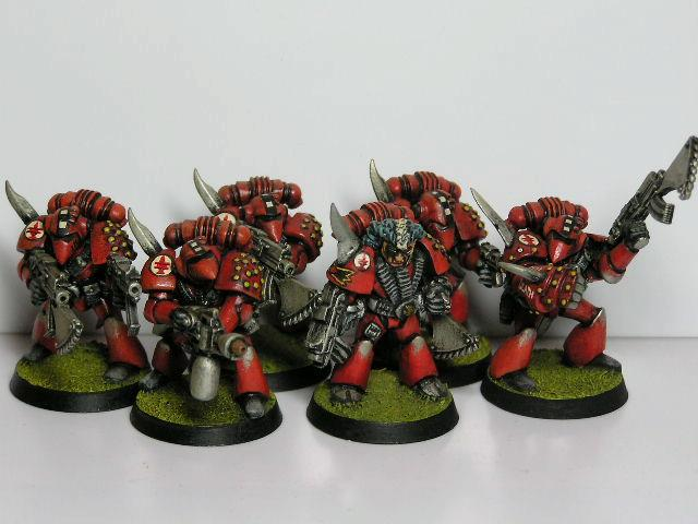 Flesh Tearers, Out Of Production, Rogue Trader, Space Marines