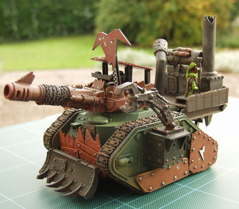 Conversion, Leman, Looted, Orks, Russ