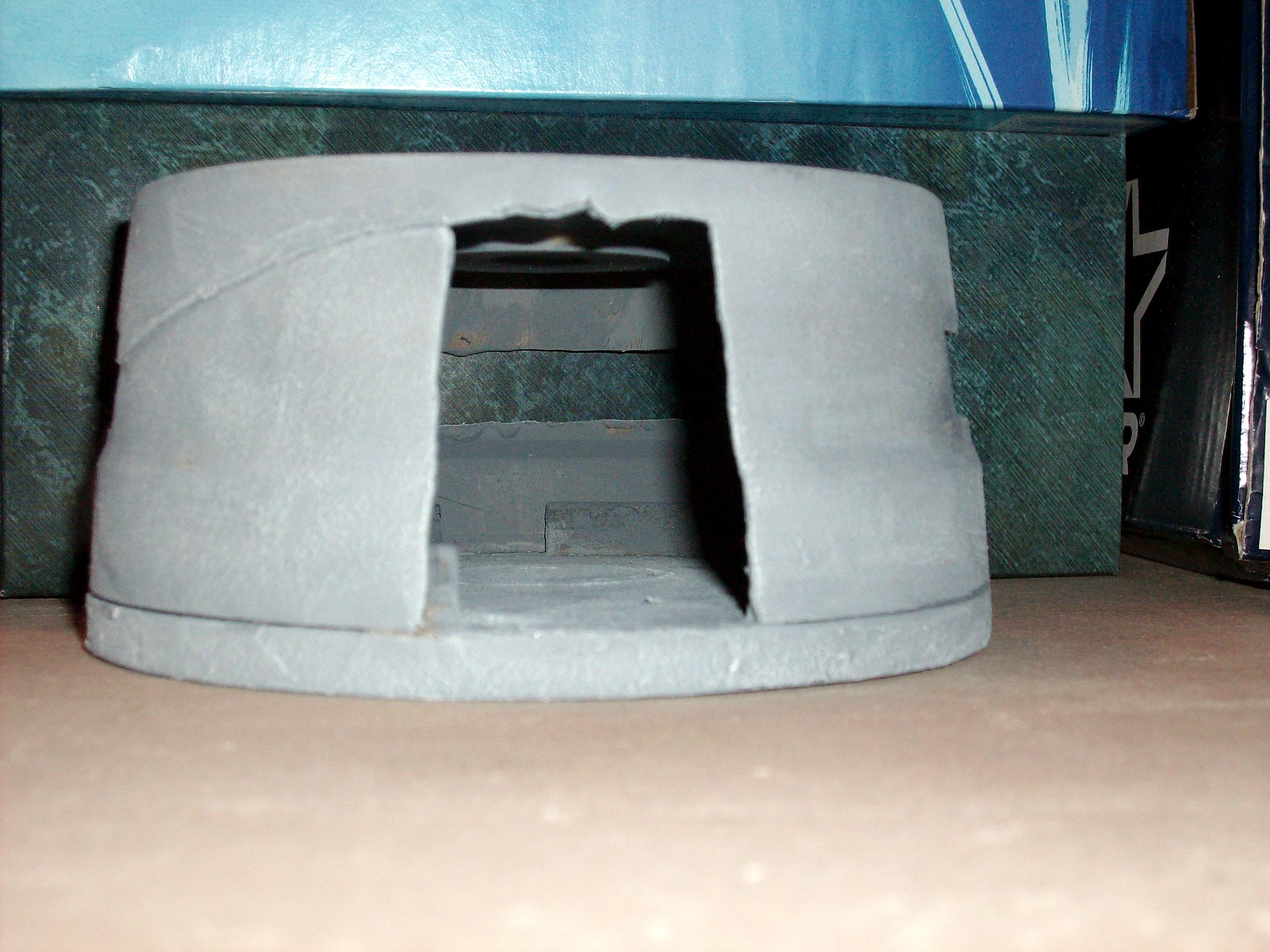 Bunker Terrain, bunker door view