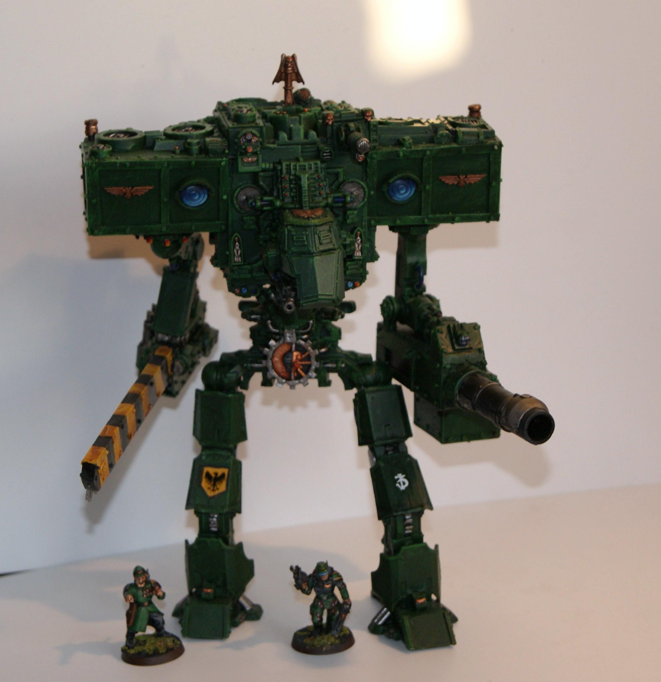Apocalypse, Conversion, Knight Paladin, Knight Titan, Scratch Build, Titan, Warhammer 40,000