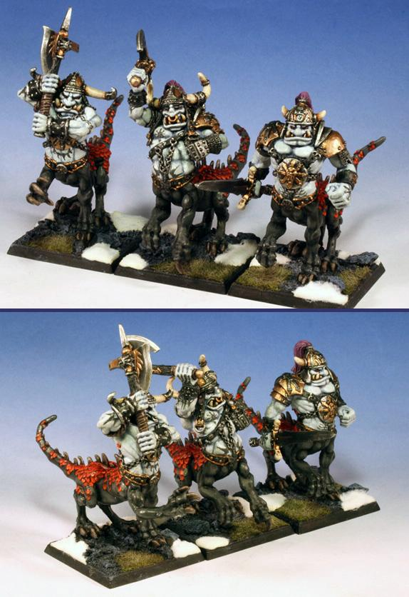 Chaos, Dragon Ogres, Warhammer Fantasy Battles