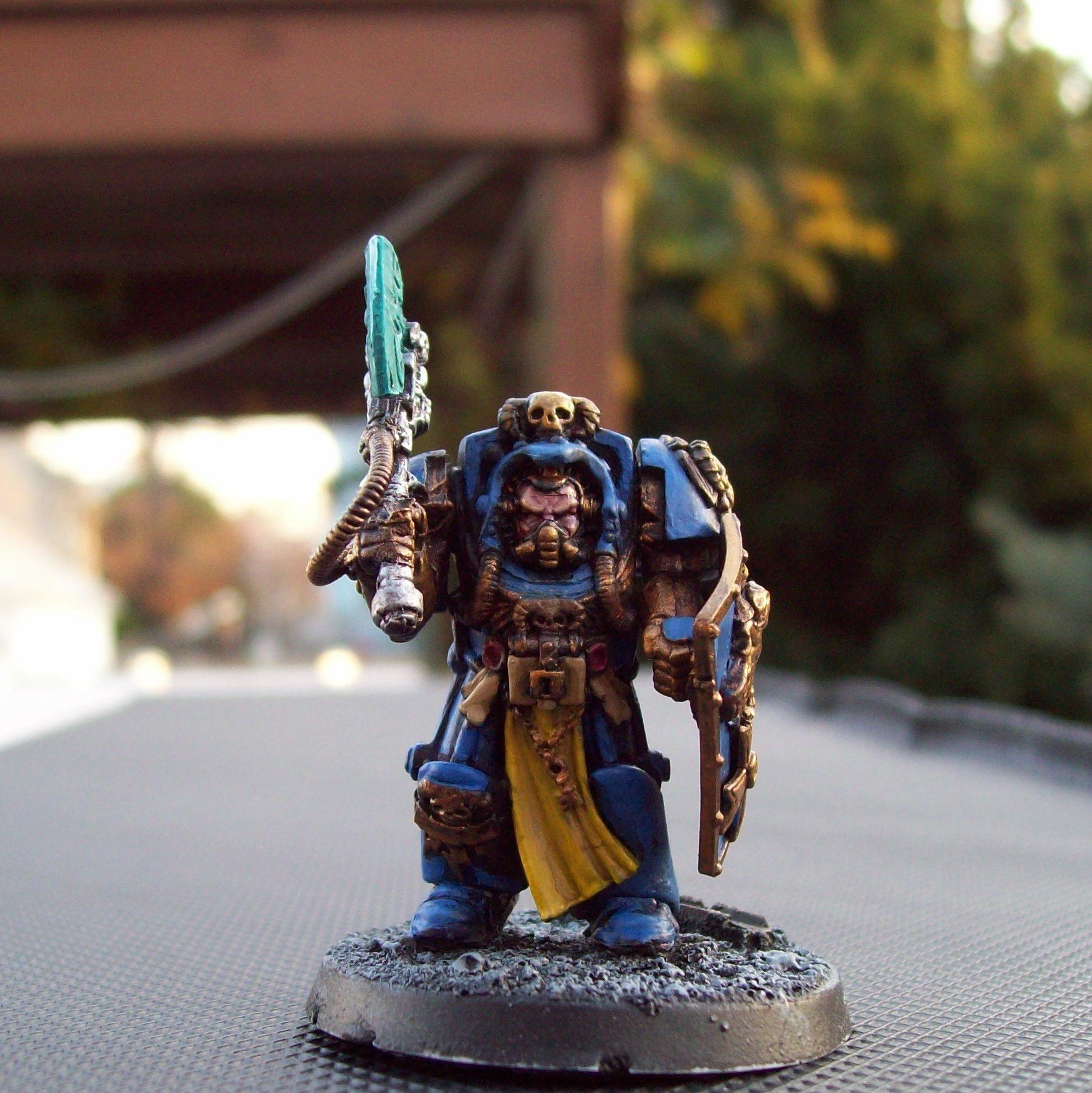 3rd Company, Celestial Lions, Conversion, Librarian, Space Marines, Warhammer 40,000