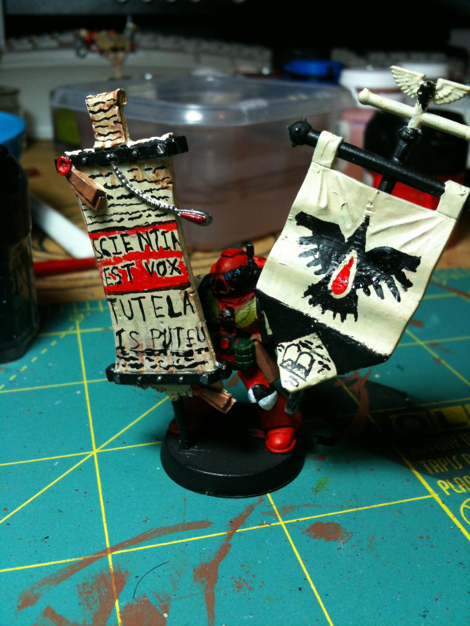 Blood Ravens, Standard Bearer
