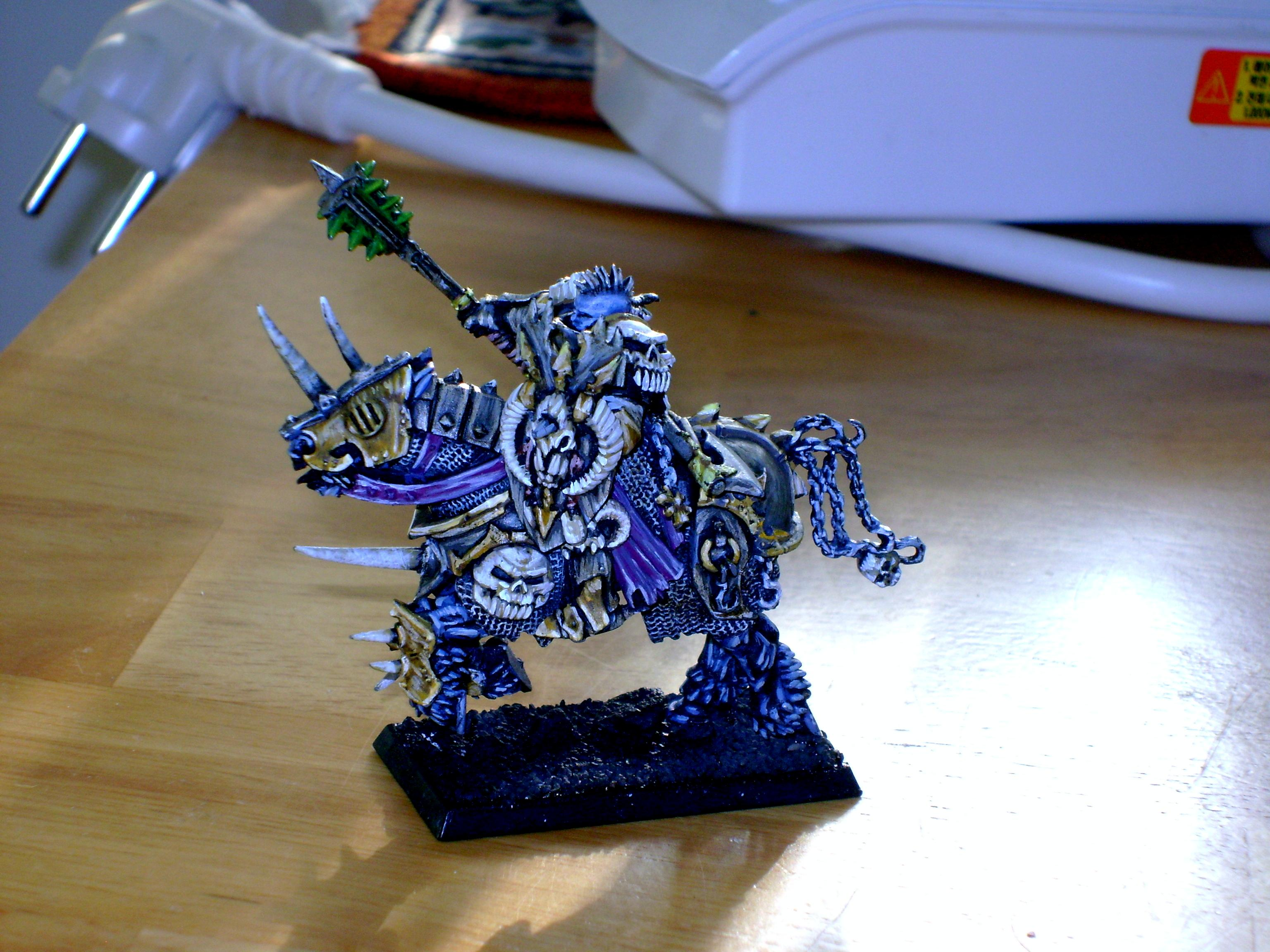 Chaos, Chaos Warrior, Lord, Mounted, Warhammer Fantasy