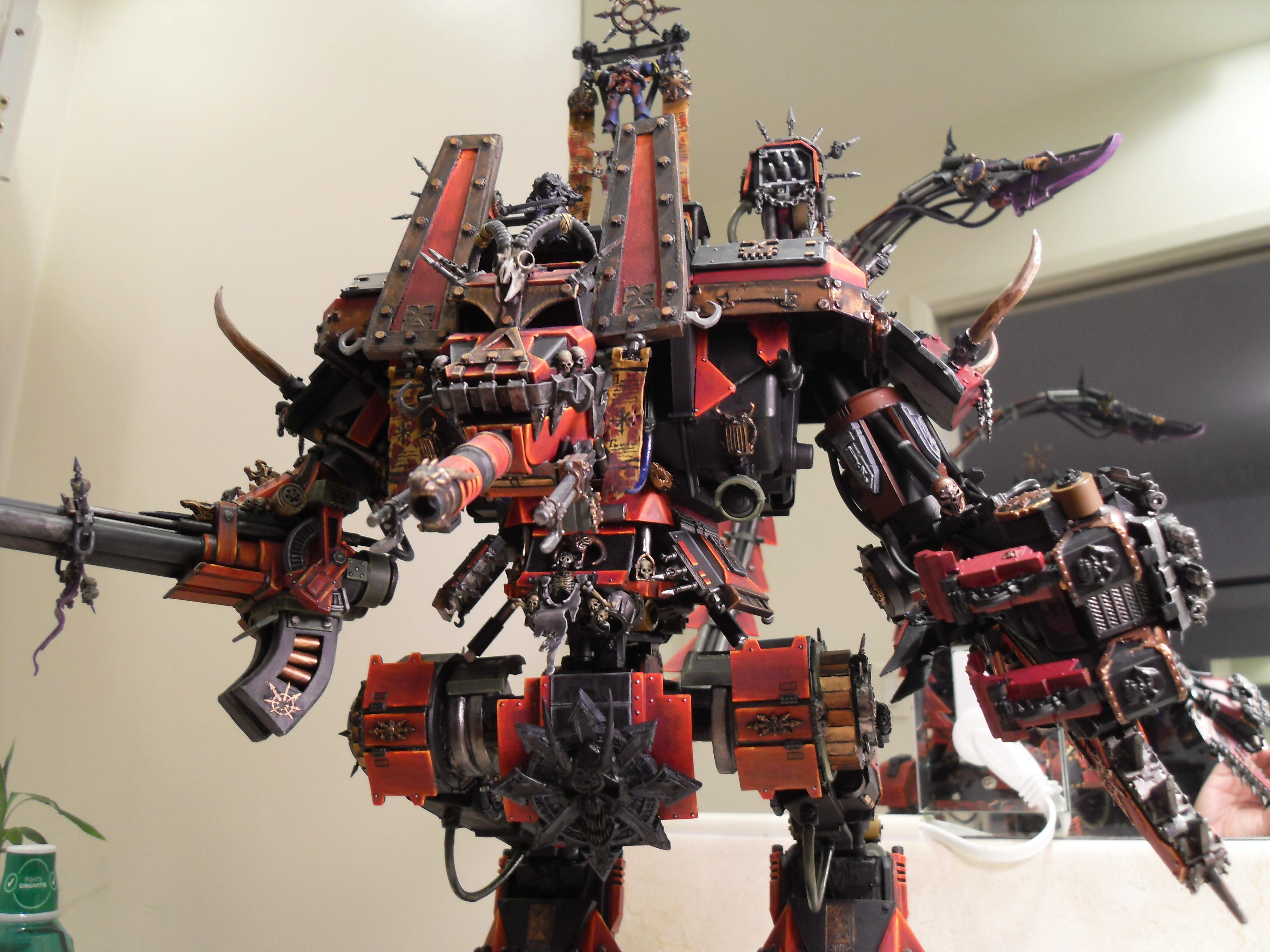 Banelord, Chaos, Titan, Warhammer 40,000
