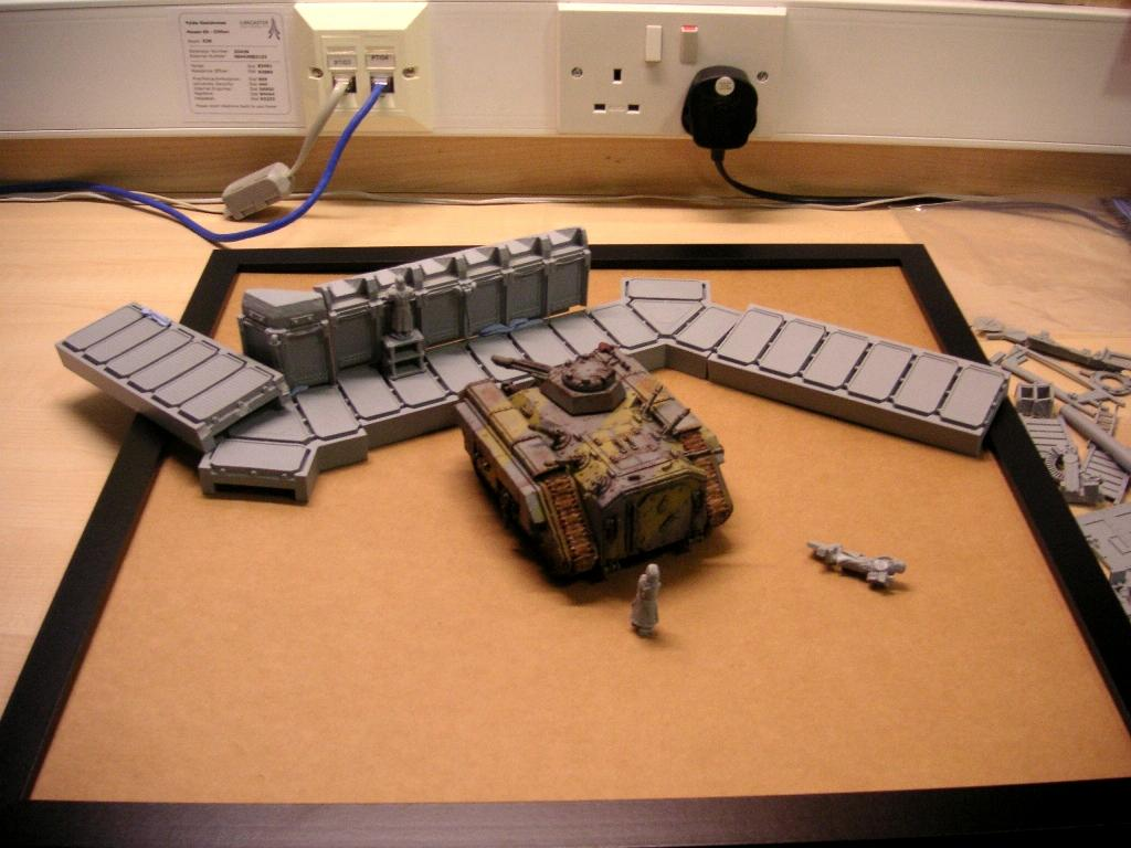 Trench layout
