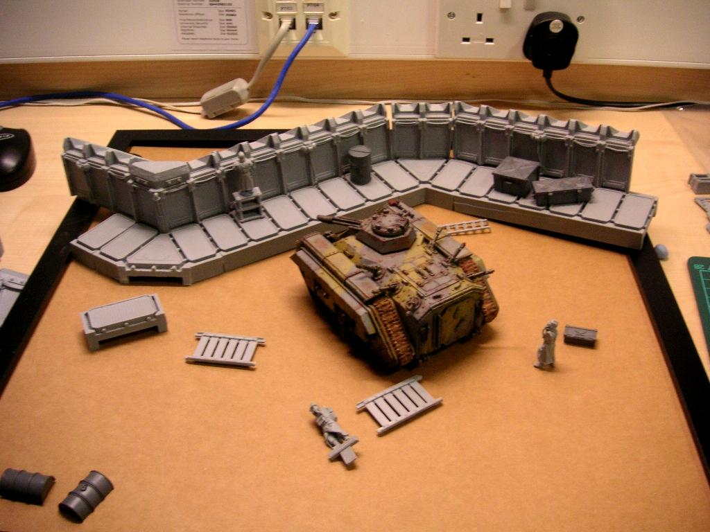 Trench layout 2