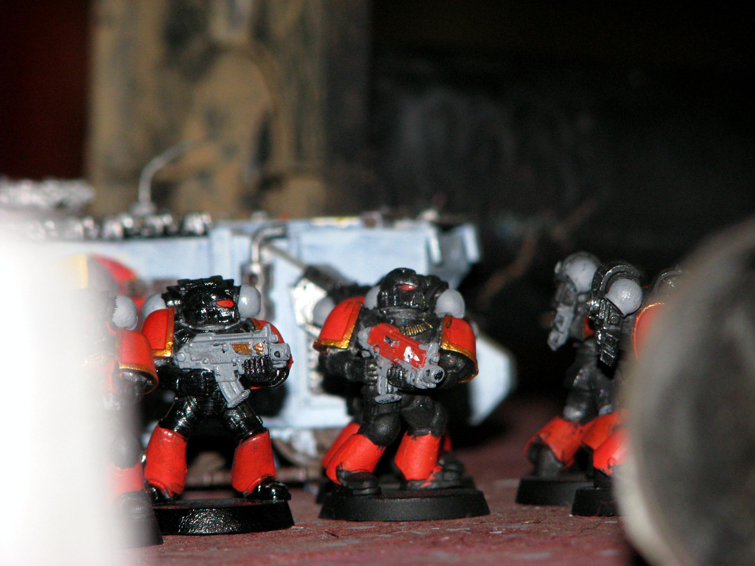 Battle Report, Space Marines
