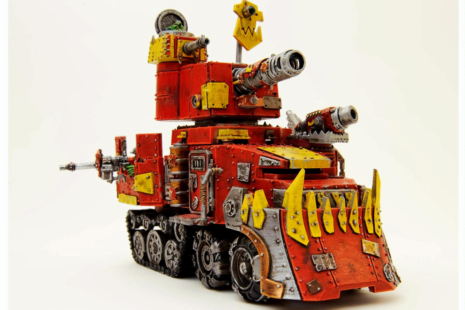 Battlewagon, Corporate, Humor, Mascot, Orks, Warhammer 40,000