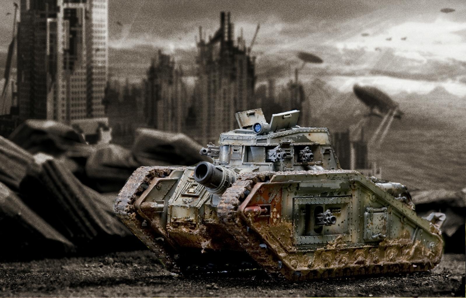 Imperial Guard, Malcador, Photoshop