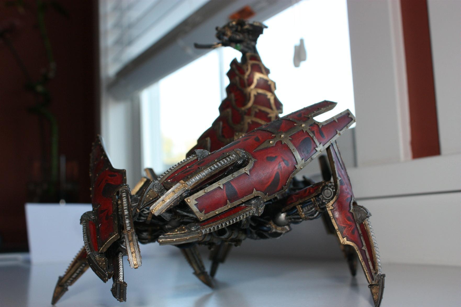 Brass Scorpion, Chaos, Daemon Engine, Daemons, Forge World, Khorne