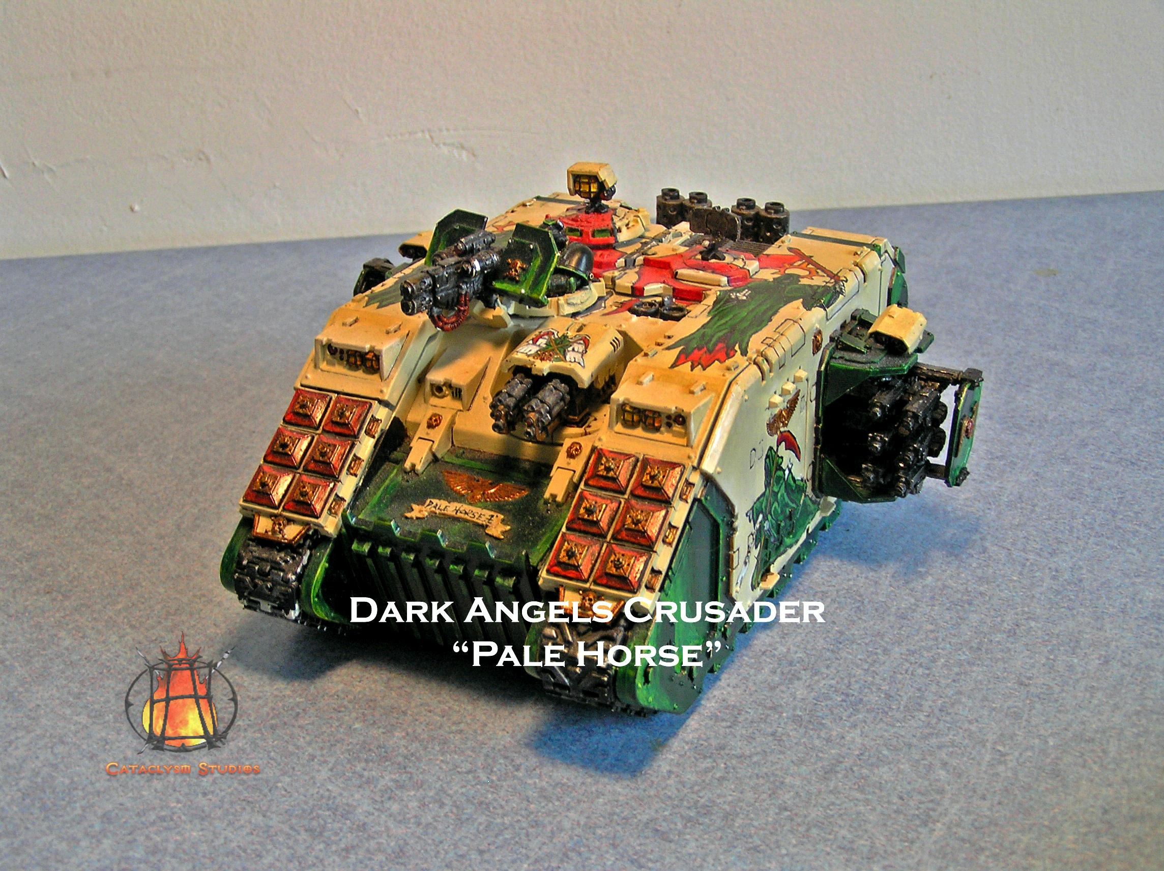 28mm, Amored Personnel Carrier, Cataclysm Studios, Dark Angels, Games Workshop, Heavy Support, Space Marines, Tank, Transport, Warhammer 40,000