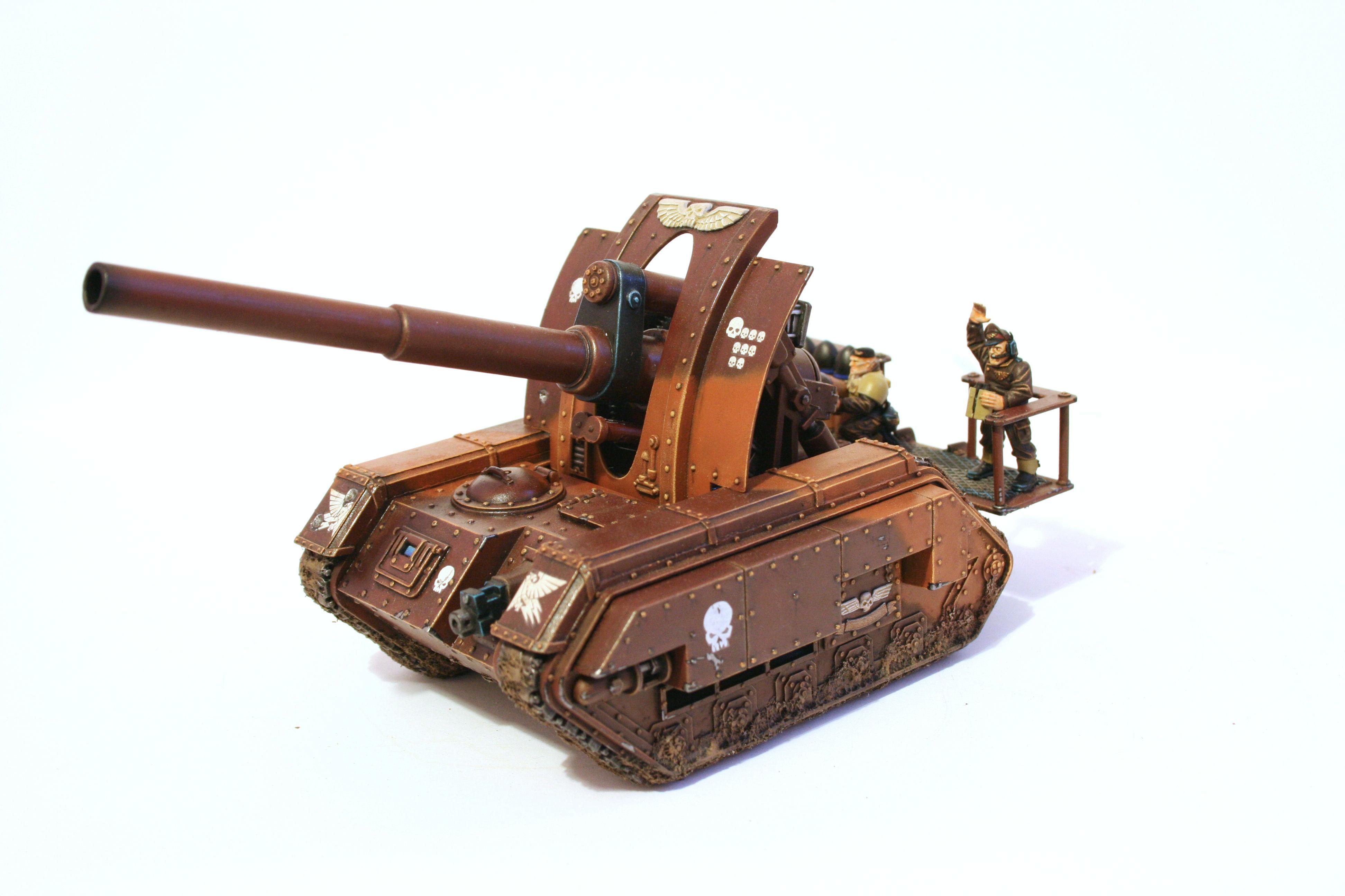 Artillery, Basilisk, Heavy Support, Imperial Guard