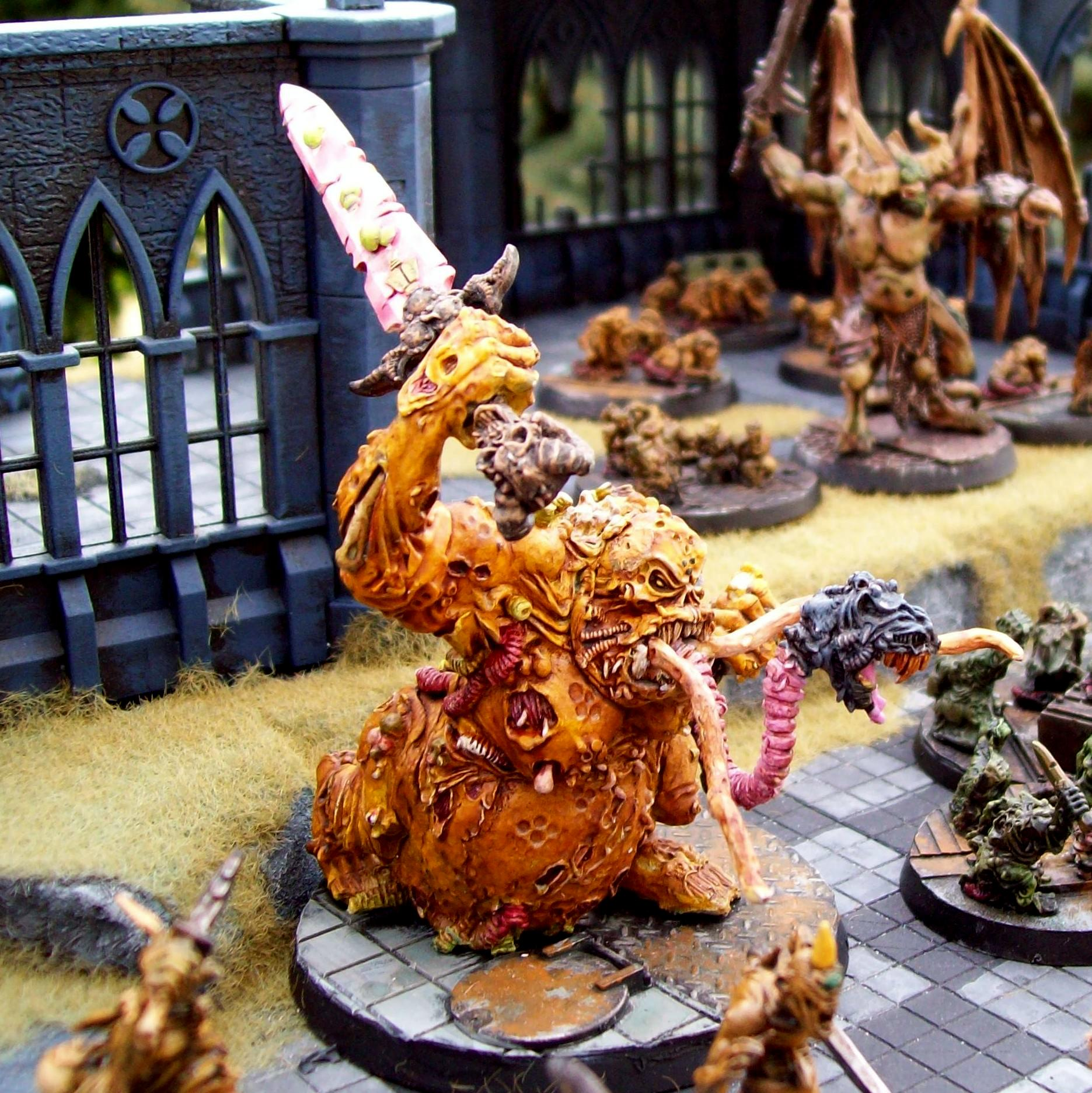 Chaos Daemons, Great Unclean One, Nurgle