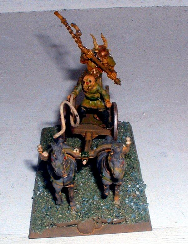 Beastman Chariot, Beastmen, Chariot, Nurgle, Wargames Factory