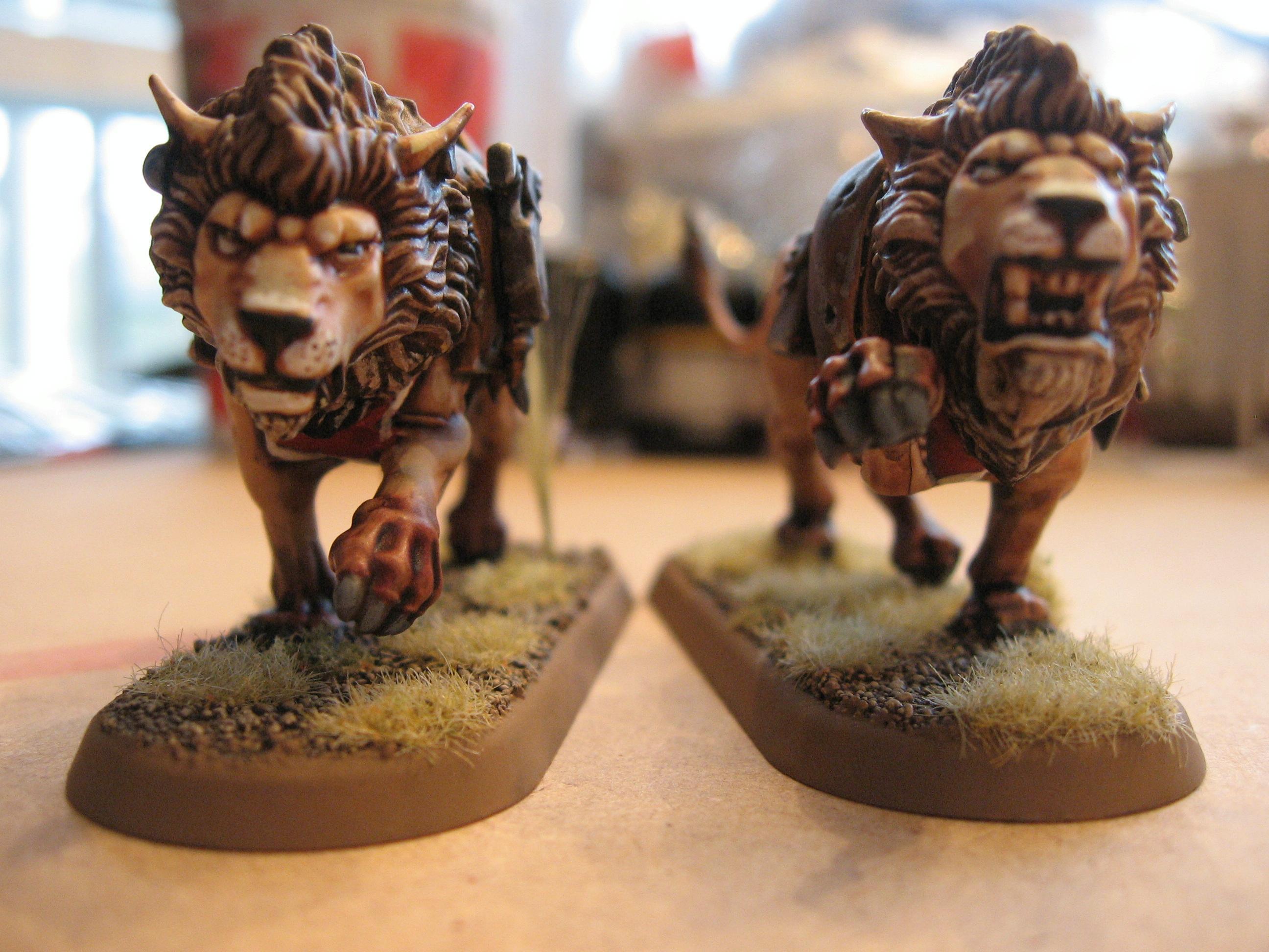Fenrisian Wolves, Lion, Space Lions, Space Marines, Space Wolves