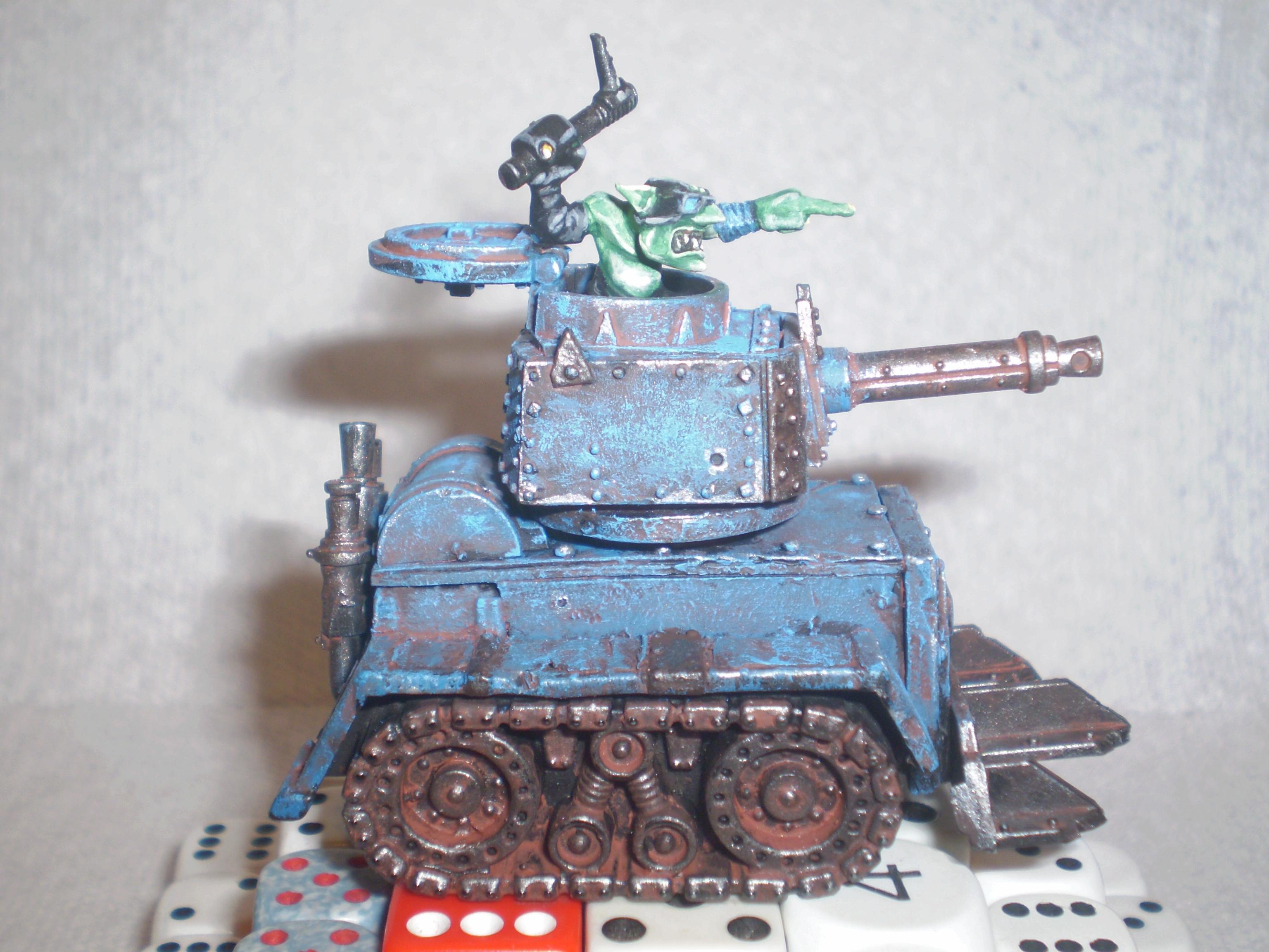 Grots, Orks, grechen tank