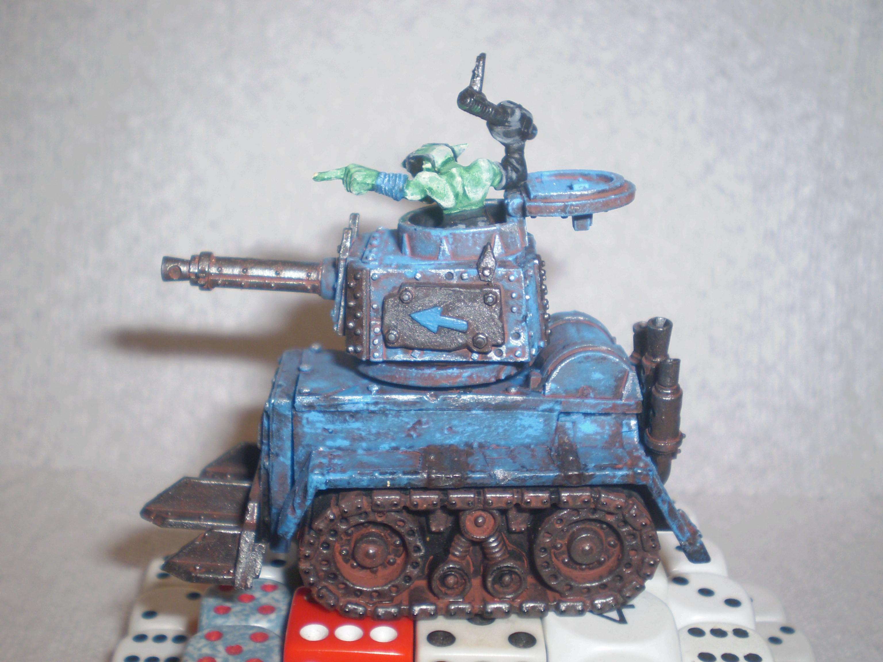 Conversion, Orks, grechen tank