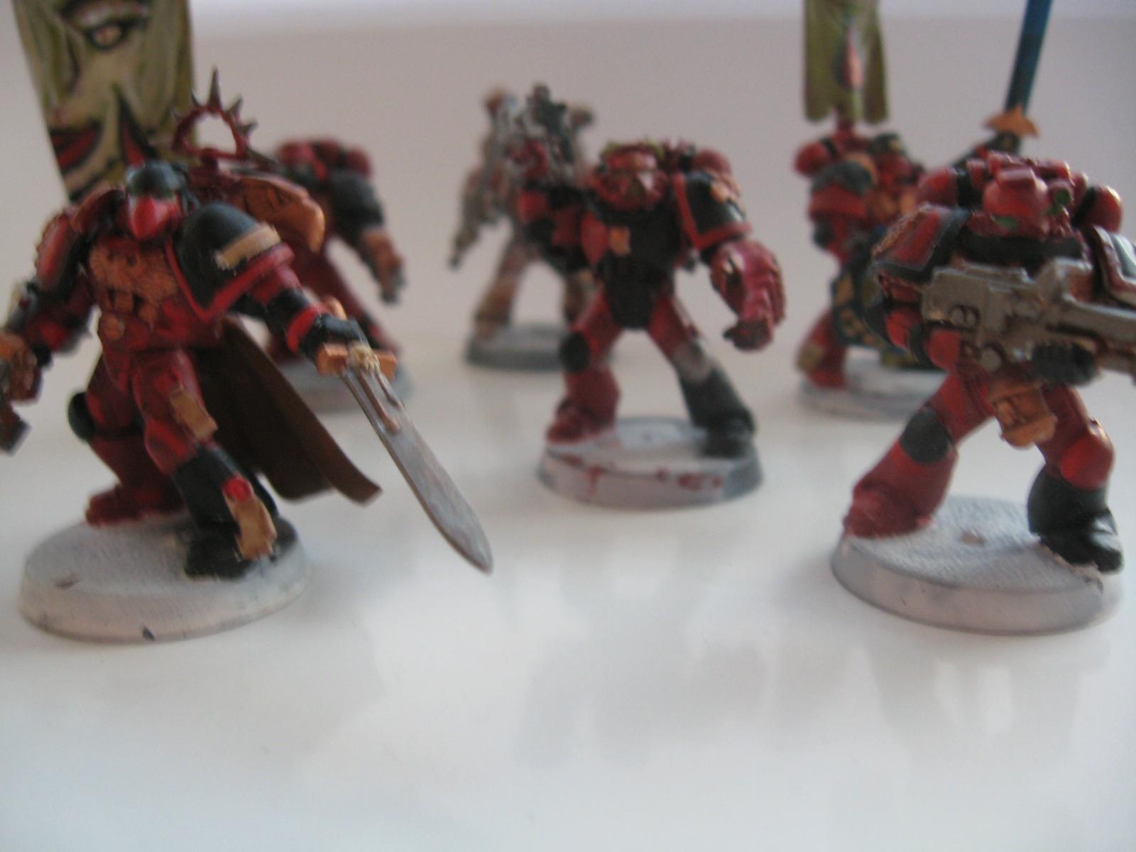 Blurred Photo, Space Marines