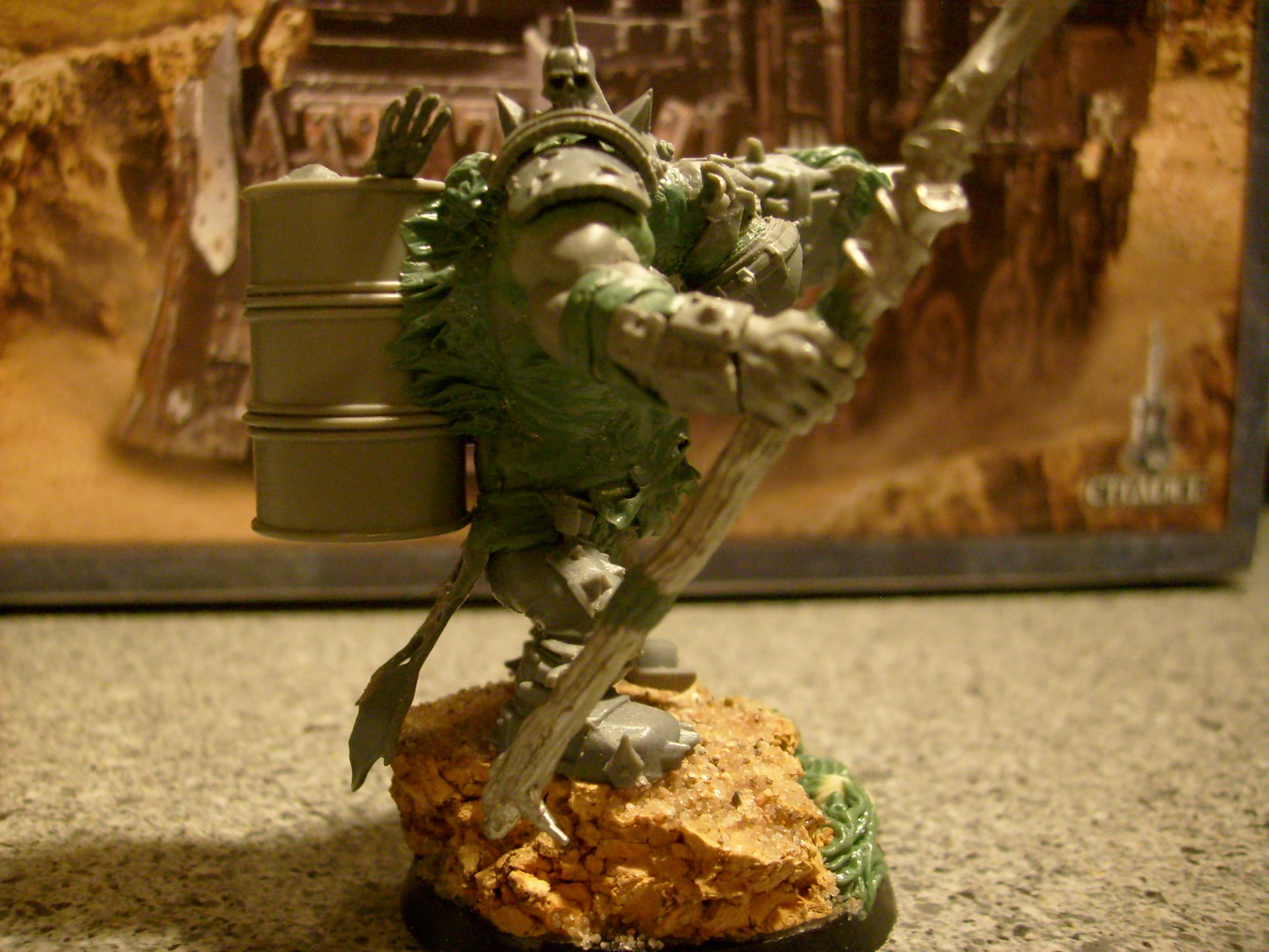 Nurgle Warboss Sideview 2