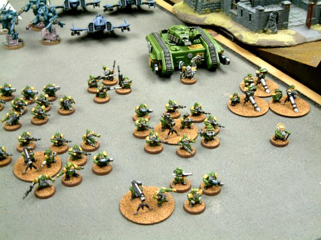 Army, Conversion, Imperial Guard, Squats