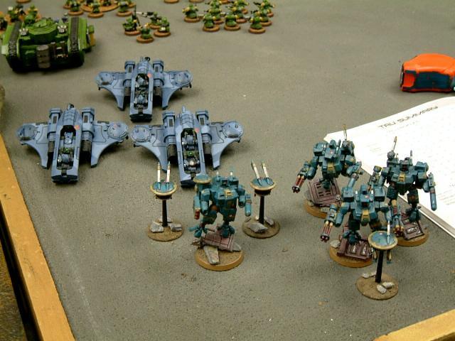 Battle Report, Tau