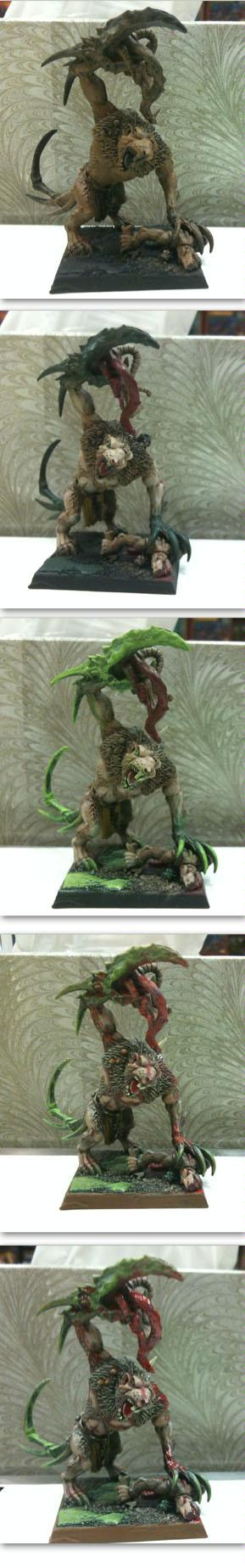 Rat Ogre stage-by-stage