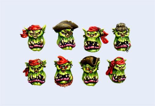 Heads, Orks