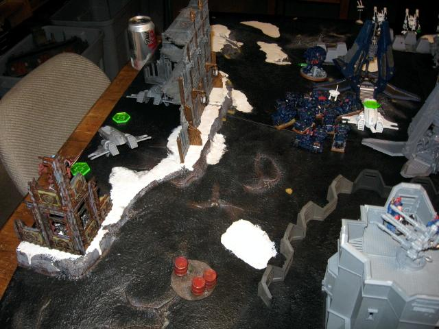 Battle Report, Crimson Fists, Planet Strike, Tau