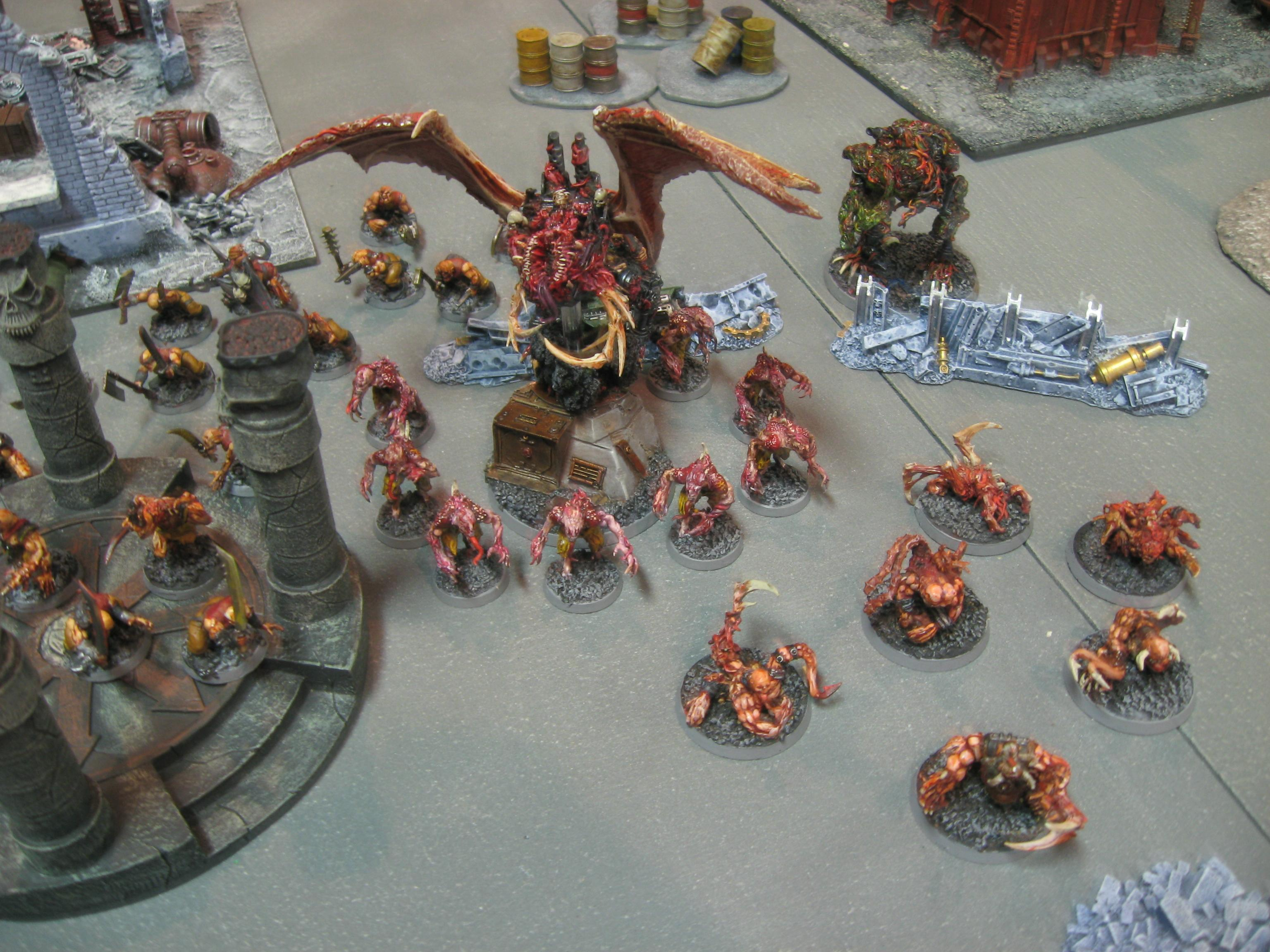 Army, Bloodletters, Bloodthirster, Chaos Daemons, Conversion, Daemons, Fiends