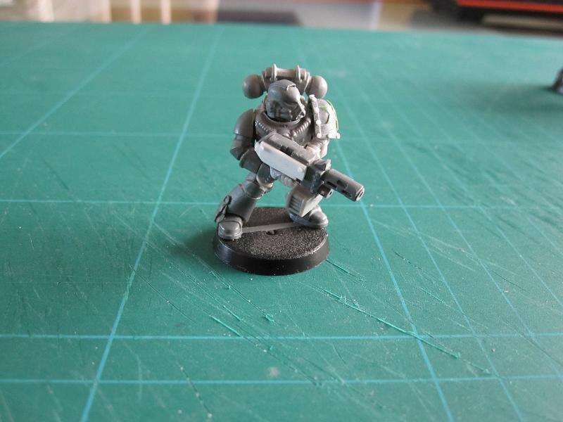 Meltagun, Space Marines, Warhammer 40,000, Work In Progress