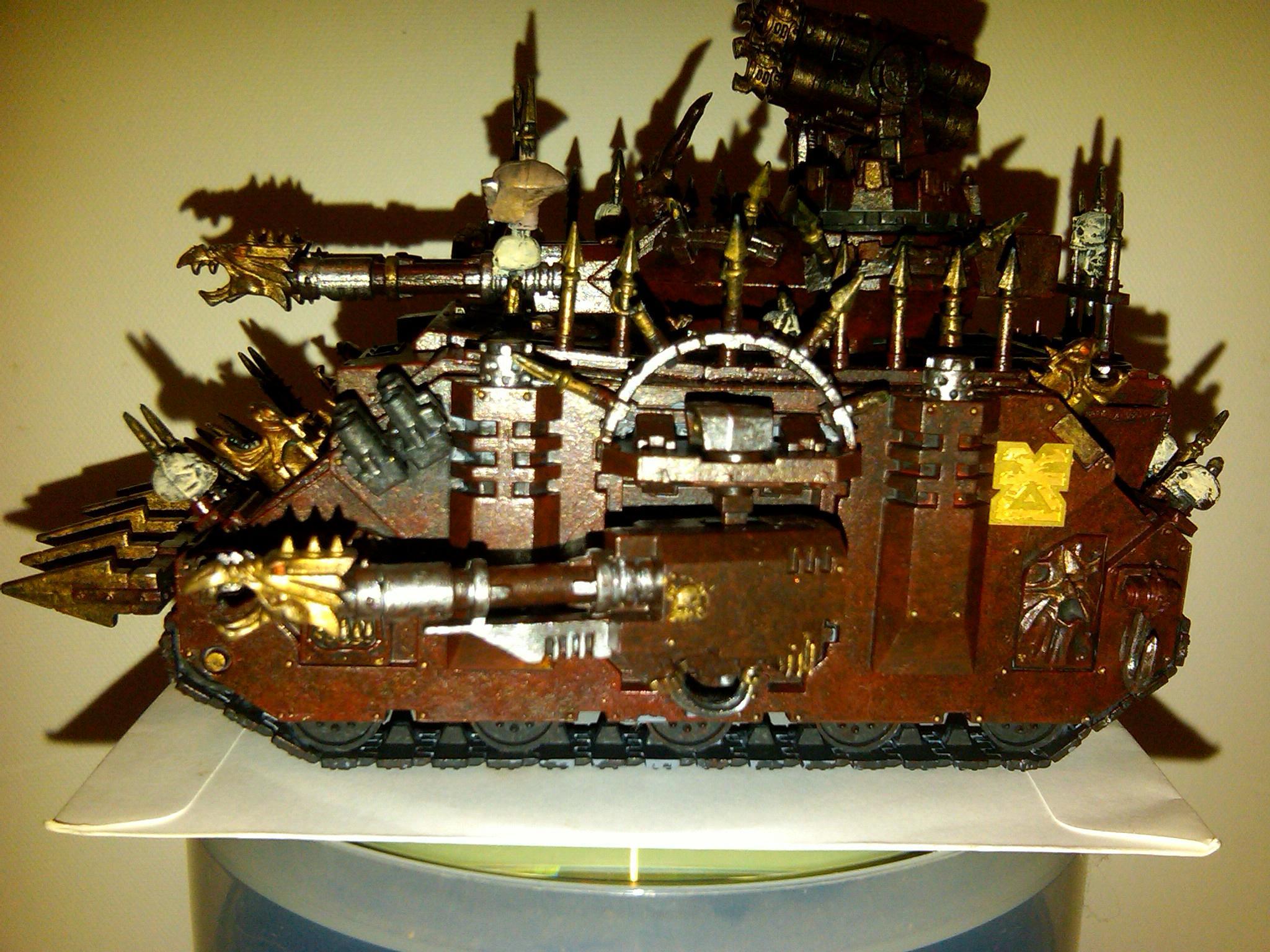 Chaos, Predator, Tank, Traitor, Warhammer 40,000, Warhammer Fantasy, Word Bearers