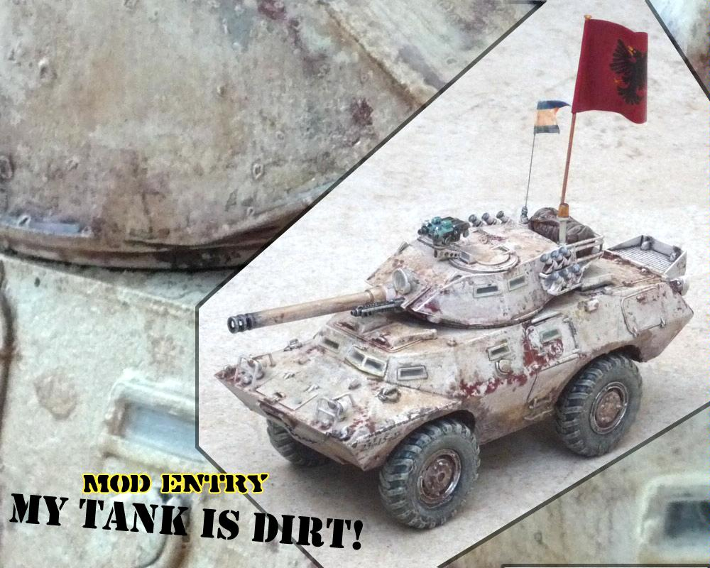 Armored Car, Chimera, Dakka Painting Challenge, Imperial Guard, Nitty Gritty Armor