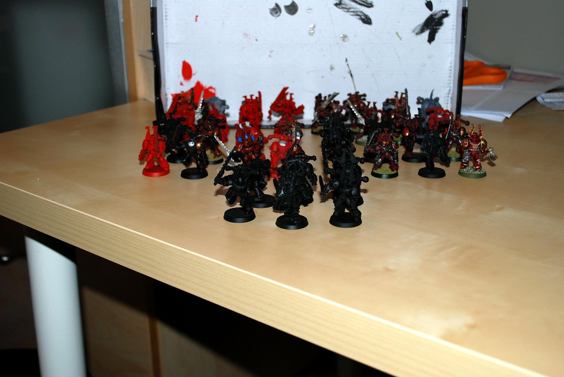 Chaos, Chaos Space Marines, Khorne, Warhammer 40,000