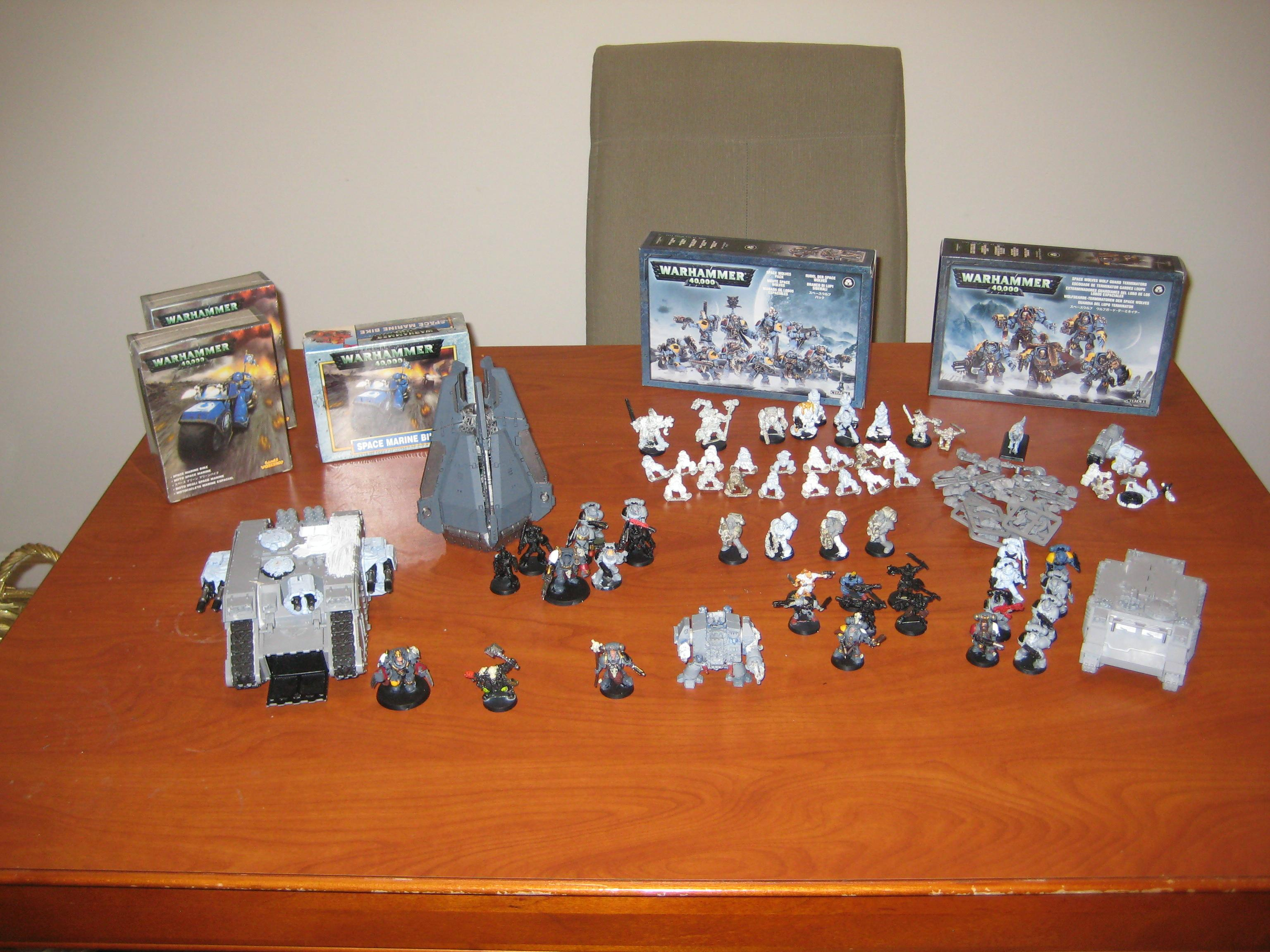 Space Wolves, Current Mass of Space Wolves