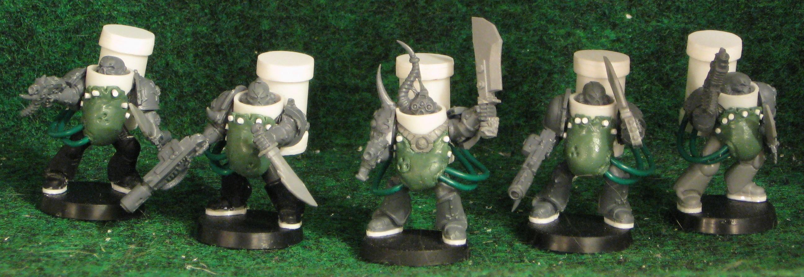 Chaos Space Marines, Death Guard, Nurgle, Plague Marines